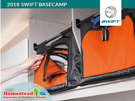 2018 Swift Basecamp Canvas Style Removable-Storage