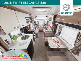 2018 Swift Elegance 530 Rear to Front