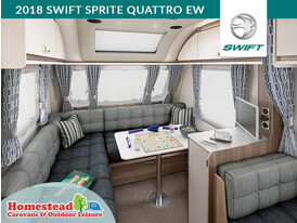 2018 Swift Sprite Quattro EW Front L Shape Lounge