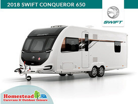 2018 Swift Conqueror 650 Front Side