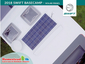 2018 Swift Basecamp Solar Panel