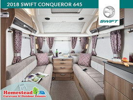 2018 Swift Conqueror 645 Night Time