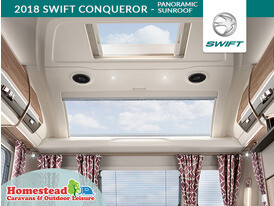 2018 Swift Conqueror Panoramic Sunroof