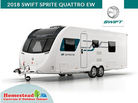 2018 Swift Sprite Quattro EW Front Side