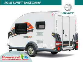 2018 Swift Basecamp Side View