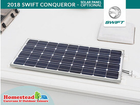 2018 Swift Conqueror Solar Panel