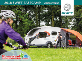 2018 Swift Basecamp Vango Awning