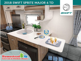 2018 Swift Sprite Major 6 TD Kitchen