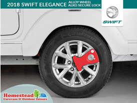 2018 Swift Elegance Alloy Wheel with Secure Lock
