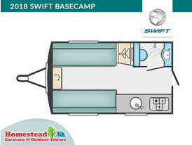 2018 Swift Basecamp Floor Plan