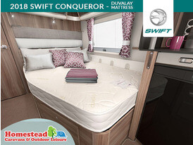 2018 Swift Conqueror Duvalay Mattress