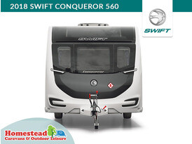 2018 Swift Conqueror 560 Nose