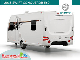 2018 Swift Conqueror 560 Rear