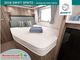 2018 Swift Sprite Duvalay Mattress