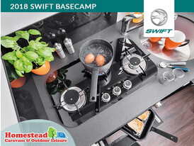 2018 Swift Basecamp Hob Unit