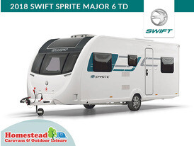 2018 Swift Sprite Major 6 TD Front Side