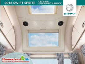 2018 Swift Sprite Panoramic Sunroof