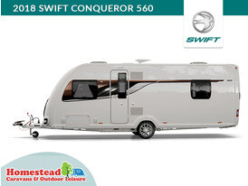 2018 Swift Conqueror 560 Side