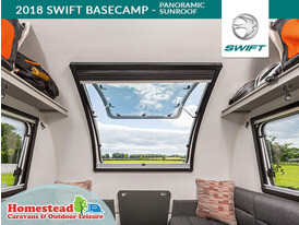 2018 Swift Basecamp Panoramic Sunroof