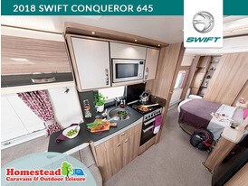 2018 Swift Conqueror 645 Kitchen