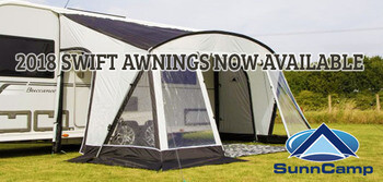 2018 SunnCamp Swift Caravan Awning Review