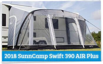 2018 Sunncamp Swift Caravan Awning Review Homestead Caravans