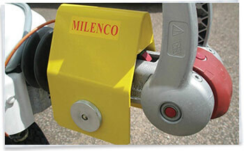 Milenco Super Heavy Duty Hitchlock