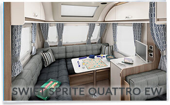 Swift Sprite Quattro EW L shape lounge