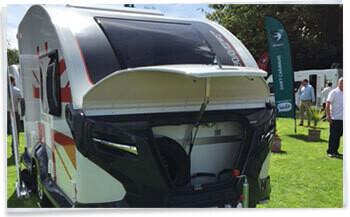 The New Swift Basecamp Compact Caravan Homestead Caravans