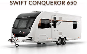 Swift Conqueror 650 front side view