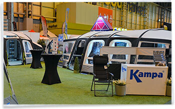 Photo from previous NEC Motorhome and Caravan Show