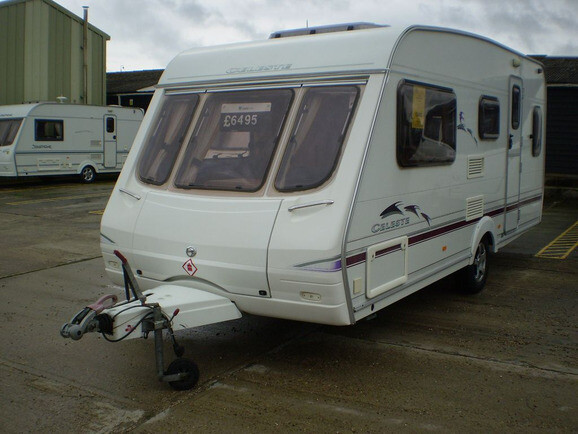 2003 Swift Celest 17/5 Caravan For Sale