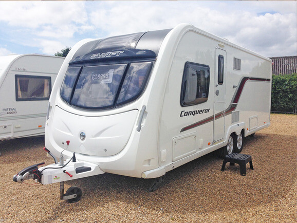 2014 Swift Conqueror 645
