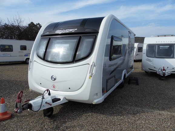 2011 Swift Conqueror 480 Caravan