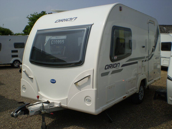 2013 Bailey Orion 400.2 Caravan For Sale