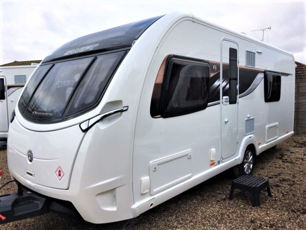 2018 swift elegance 565 for sale homestead caravans. Black Bedroom Furniture Sets. Home Design Ideas