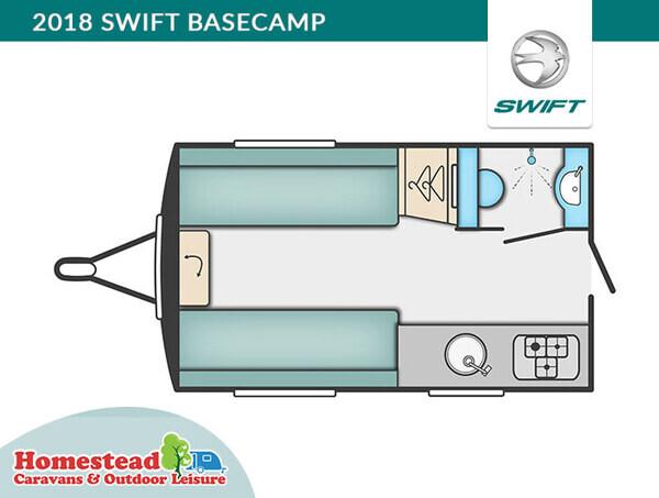 Swift Basecamp Plus Compact Caravan