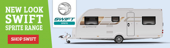 Browse our latest range of Swift Caravans for sale