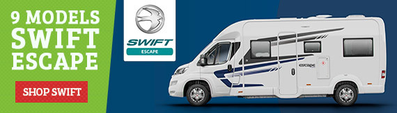 New Swift Sprite Caravan range now redesigned for 2018