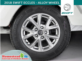 2018 Swift Eccles Alloy Wheel
