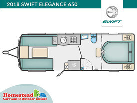 2018 Swift Elegance 650 Floor Plan
