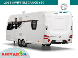 2018 Swift Elegance 650 Rear Side