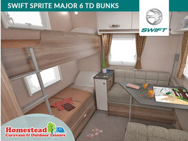Swift Sprite 6TD Bunk Beds
