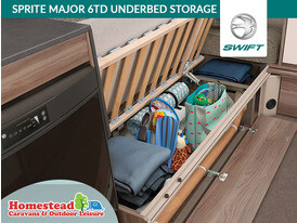Swift Sprite Major 6 TD Underbed Storage