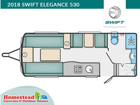 2018 Swift Elegance 530 Floor Plan