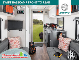 Swift Basecamp Front to Rear