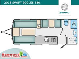 2018 Swift Eccles 530 Floor Plan