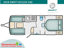 2018 Swift Eccles 560 Floor Plan