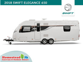 2018 Swift Elegance 650 Side View