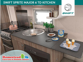 Swift Sprite 6 TD Kitchen
